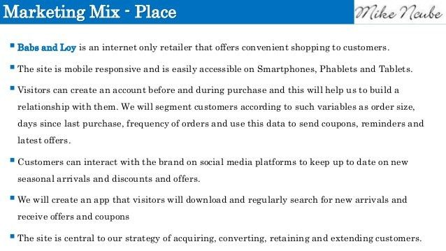 Online Retailer Digital Marketing Strategy Example