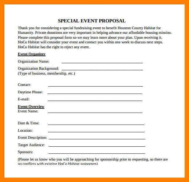 9+ event planning proposal template | packaging clerks
