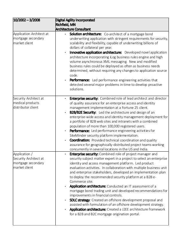 Security architect resume resumecompanioncom resume samples - security architect resume