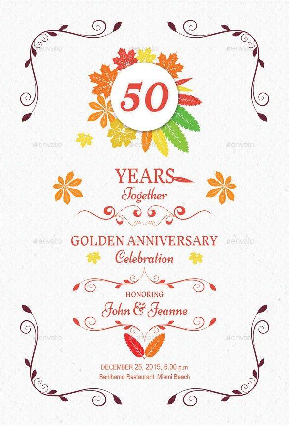 Anniversary Invitation Templates – 25+ Free PSD, Vector EPS, AI ...