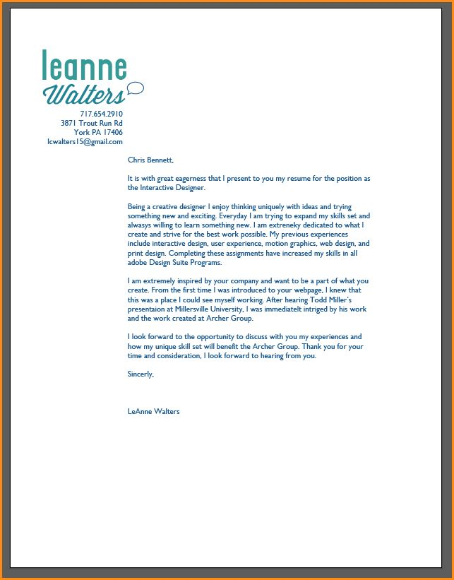 8+ graphic designer cover letter examples | Invoice Template Download