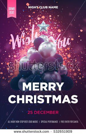 Christmas Poster Stock Images, Royalty-Free Images & Vectors ...