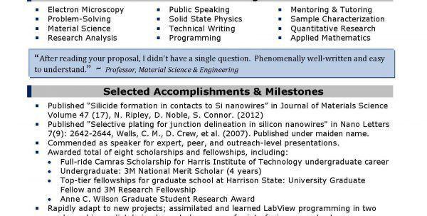 Science Resume Writing Science Resume Template Resume Template ...