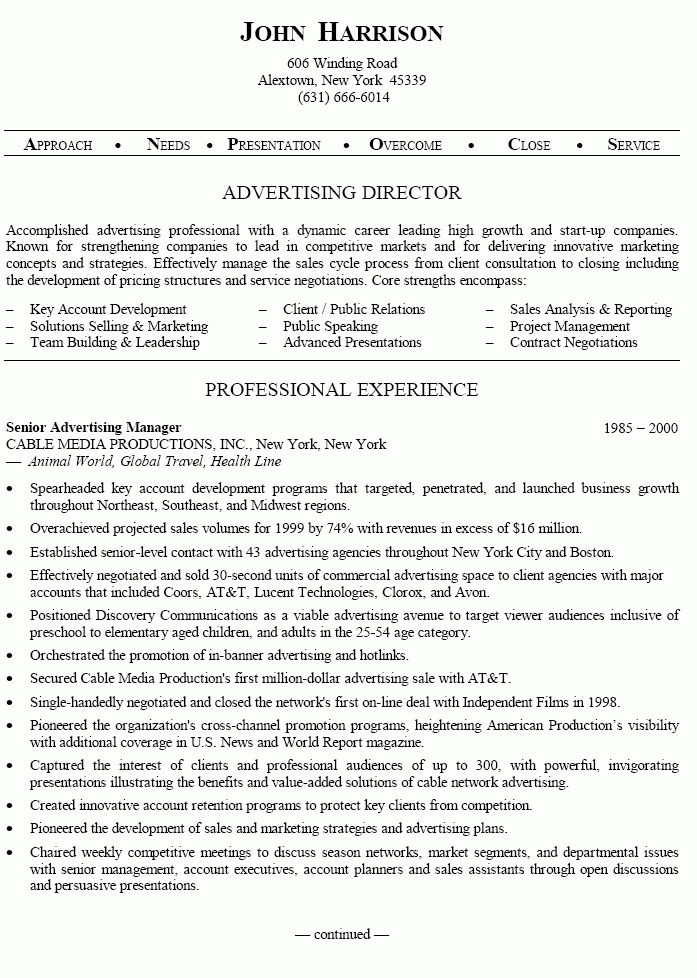 22 Account Manager Resume Examples to Profitable Business | Sample ...
