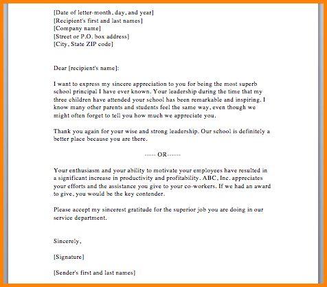 8+ appreciation letter sample | memo templates