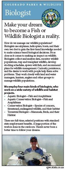 Colorado Parks & Wildlife - Biologist