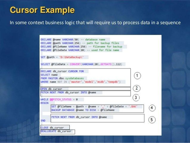 Steps towards of sql server developer