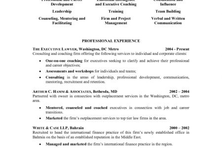 General Counsel Resume Cover Letter General Circuit Diagrams ...
