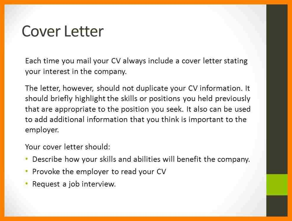 What To Include On A Cover Letter 15 What To Put On Cover Letter ...