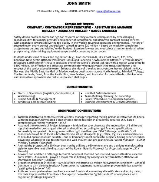 Example Of General Contractor Resume. best general contractor ...