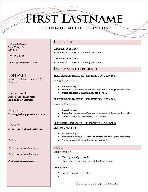 resume format guide resume format 2017. show me resume format. cv ...