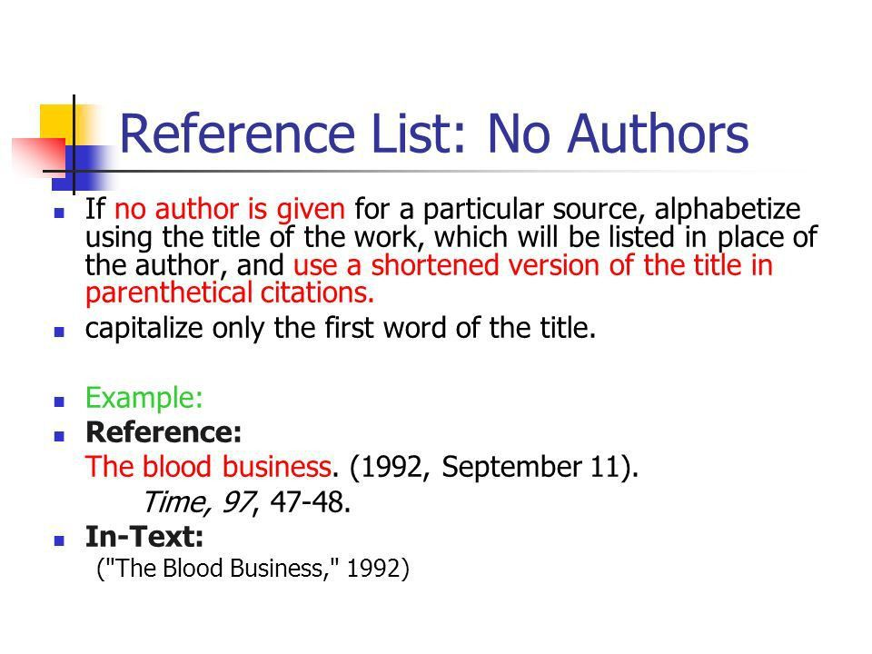 to cite a website with no author or date