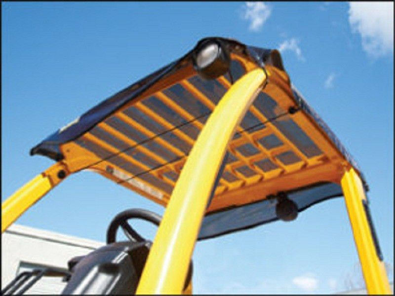 Forklift Sun & Rain Canopy | Protect From Sun & Falling Debris
