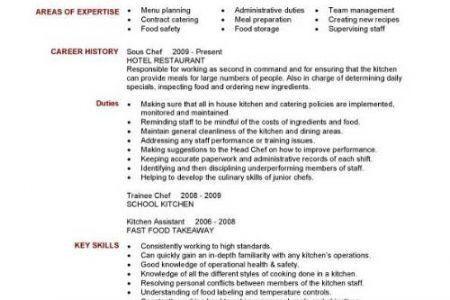 chef resume objective sample chef resume chefs resume chef resume
