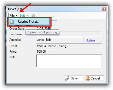 How to Print or Re-Print Event Tickets and Event Order Receipts ...