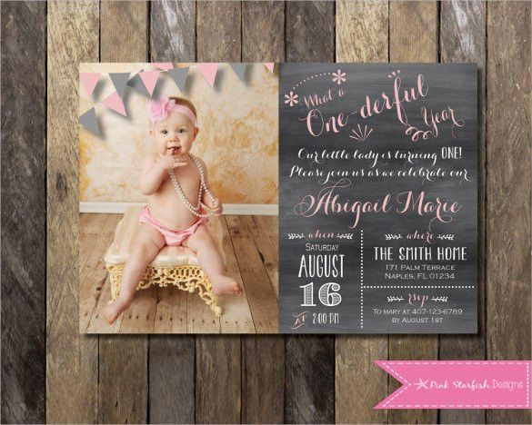 Free First Birthday Invitations - vertabox.Com