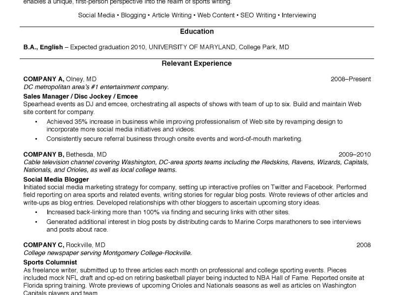 resume bio template resume studio resumes career resume cover ...