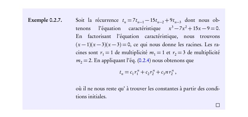 A (simple) LaTeX Example Environment   Harder, Better, Faster ...