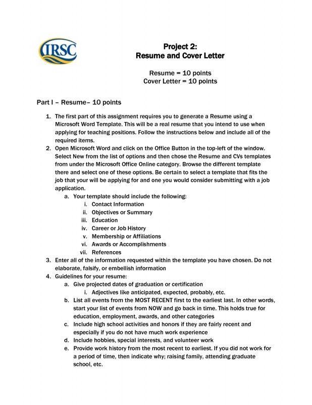 Microsoft Resume Template. Resume Templates Word On Mac Resume ...
