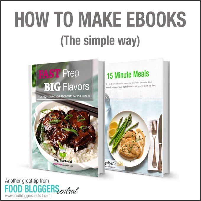 The Simple Way to Make eBooks | Food Bloggers Central