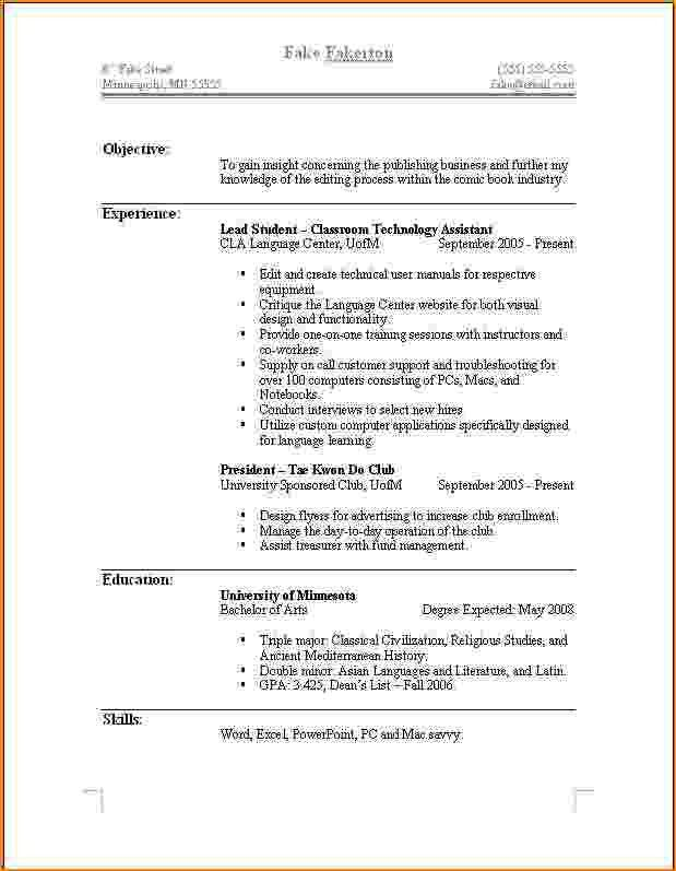 79 terrific what does a professional resume look like template ...