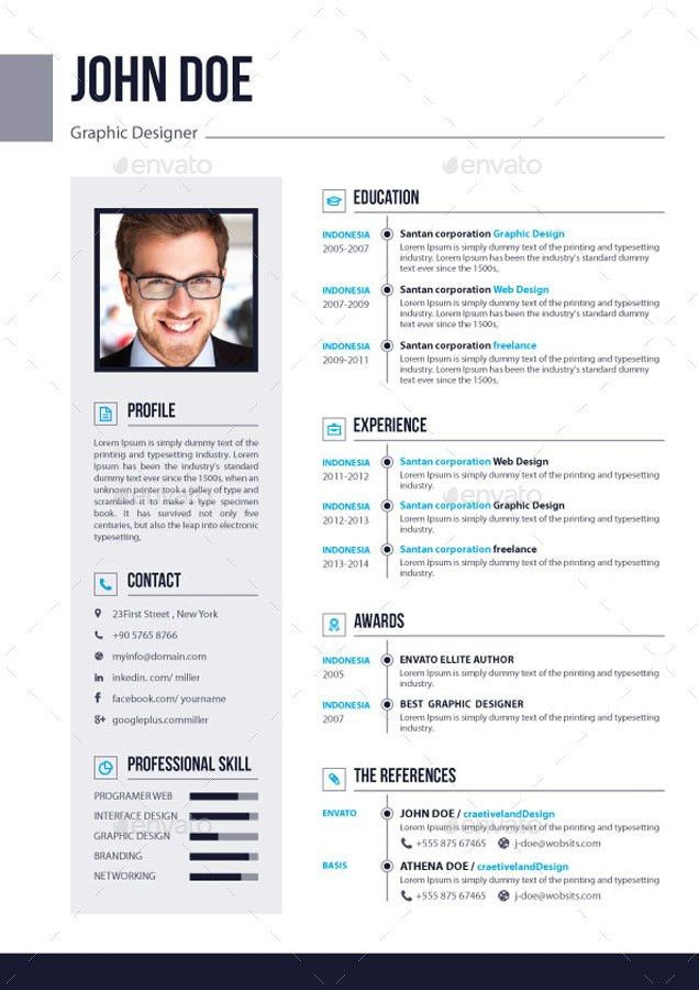 3 Page Resume Sample - Contegri.com