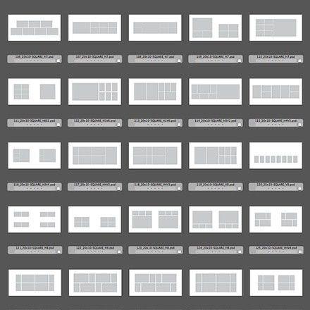 150 Square Album Design Templates for Photoshop & InDesign ...