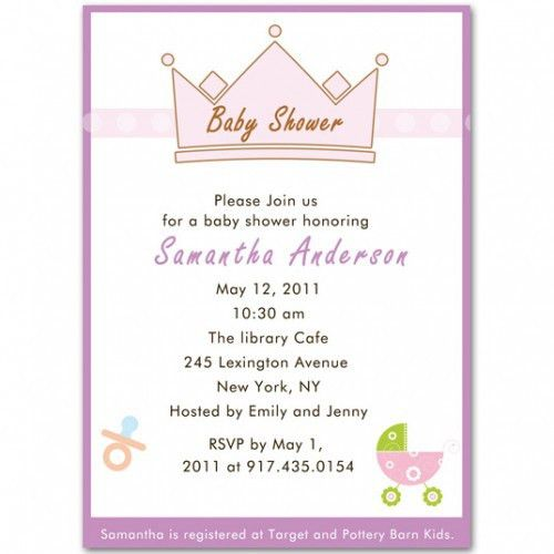 Unique Baby Shower Wording Ideas | Baby Shower Invitations – Cheap ...