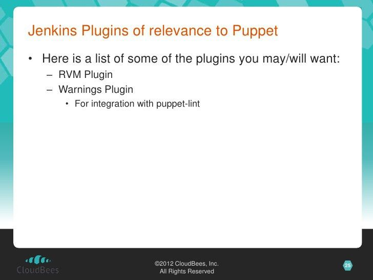 Continuous Development with Jenkins - Stephen Connolly at PuppetCamp …