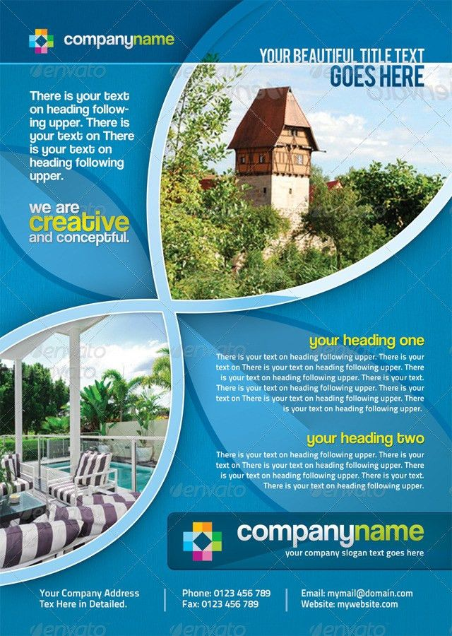 Creative Corporate Business Flyers/Ads by GraphicArtist | GraphicRiver