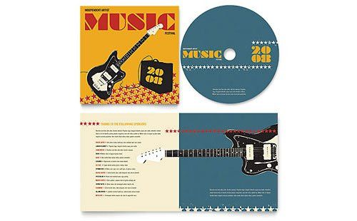 Music & Arts Pamphlets | Templates & Designs