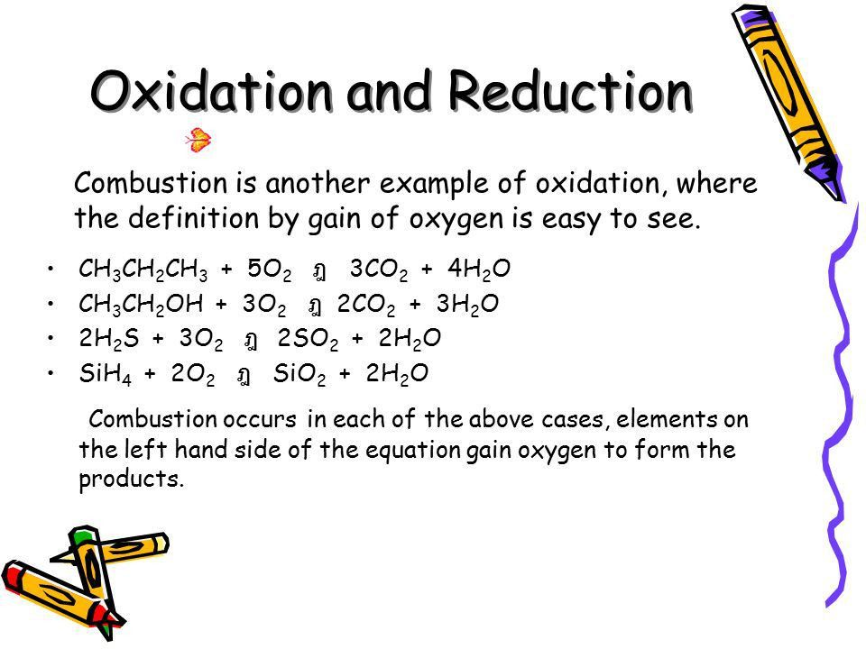 REDOX REACTIONS 1: Oxidation and reaction. - ppt video online download