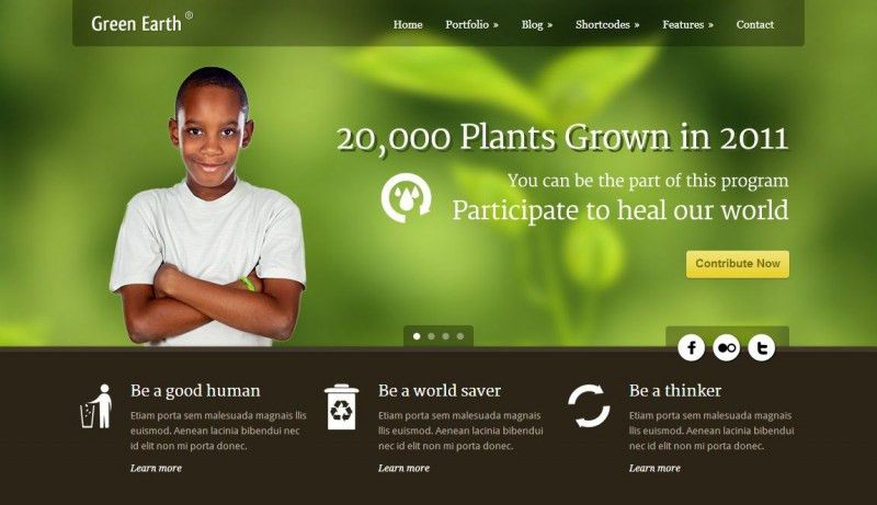 18 Best Charity Website Templates & Wordpress Themes