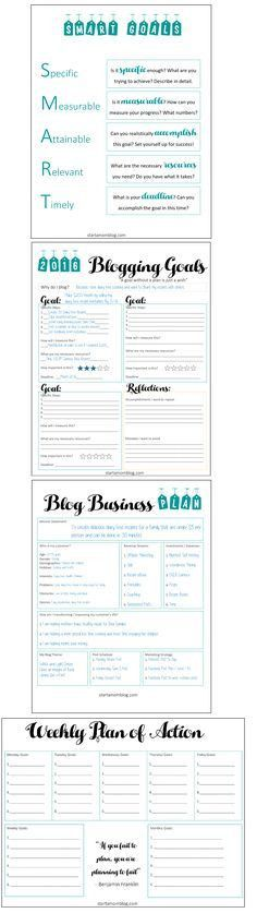 Free Printable Blogging Planner - Blog Planner Printable ...