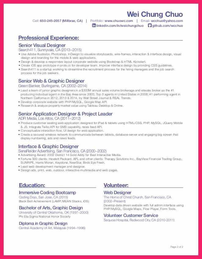 resume senior web application developer resume java developer