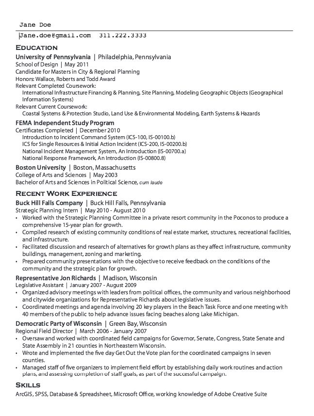 Sample Outline Legislative Assistant Resume - http://resumesdesign ...