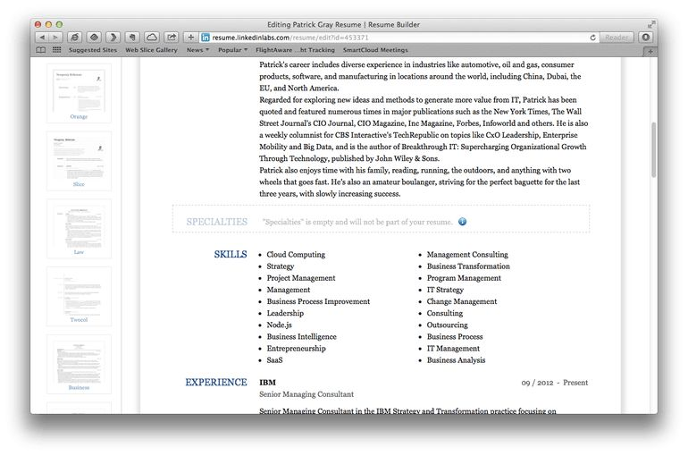 Build and maintain your resume with the help of these five apps ...