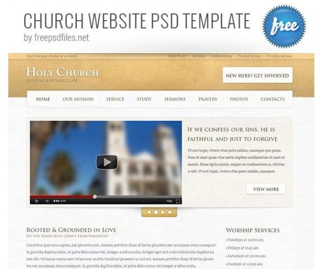 50 Best Free PSD Web Templates 2017 - DesignersCage