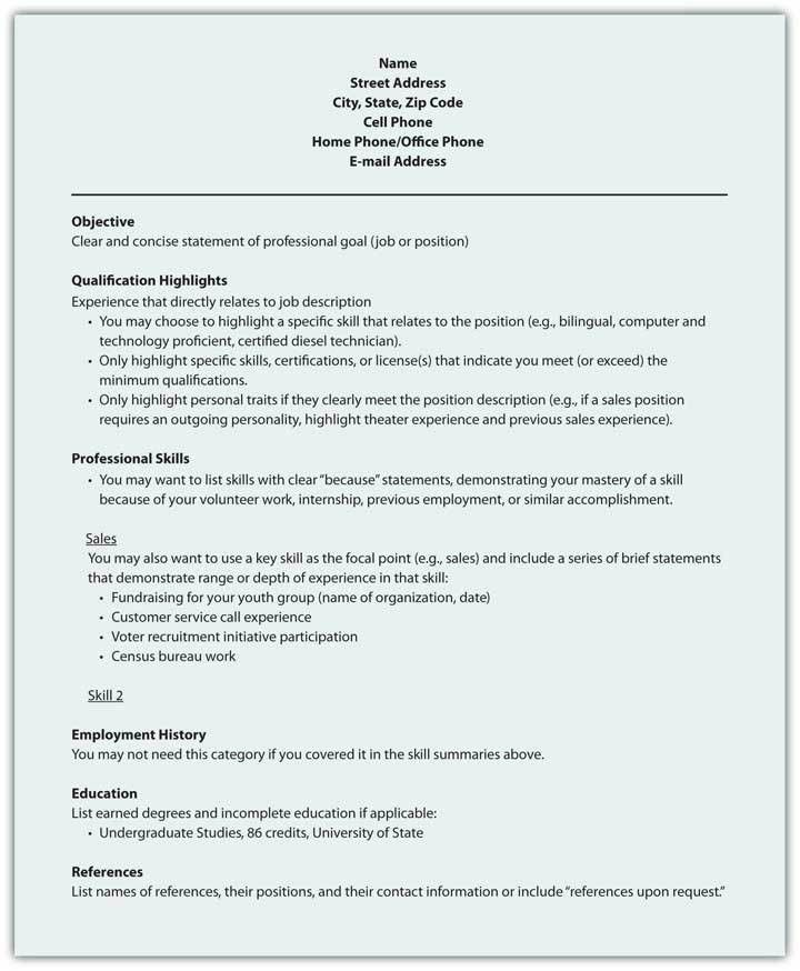 functional resume template free download sample resume 2017. a ...