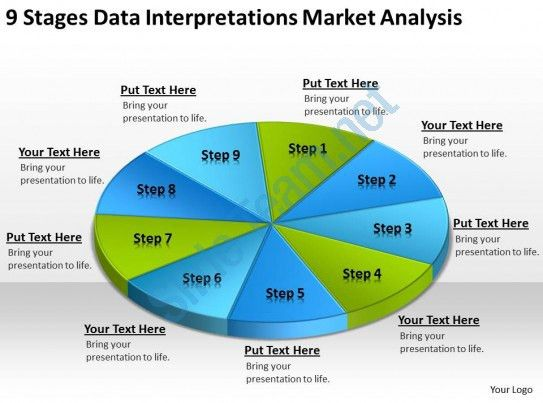Business Process Flow Chart Example Data Interpretations Market ...