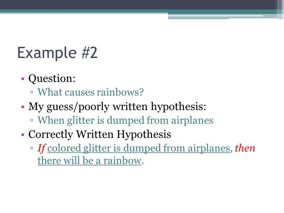 Identifying Variables & Hypothesis Notes and Examples. - ppt download