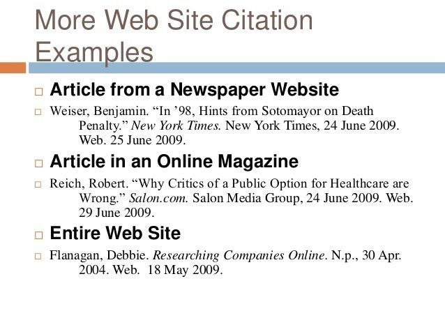 Annotated bibliography example newspaper article