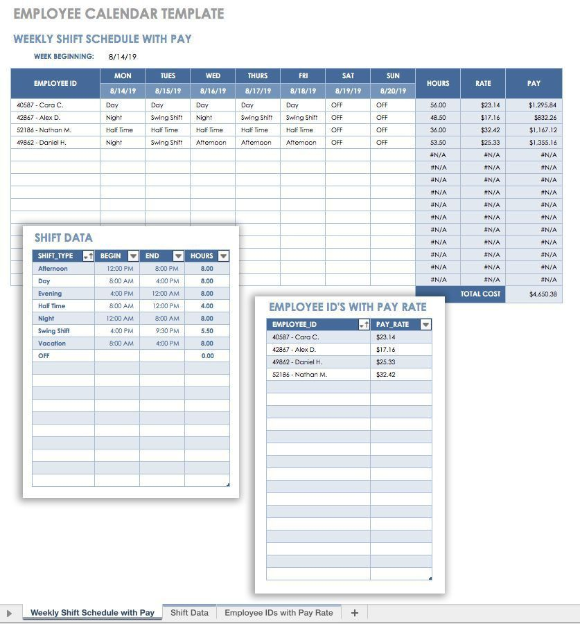 Payslip Template Excel Free