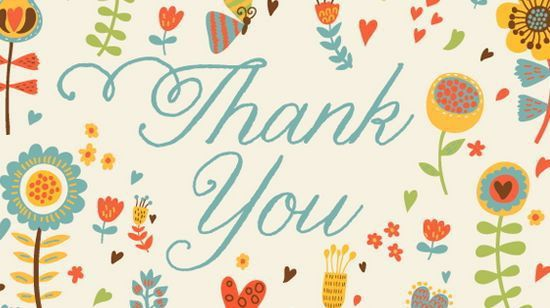 20 Free Thank You Card Templates - DESIGGN