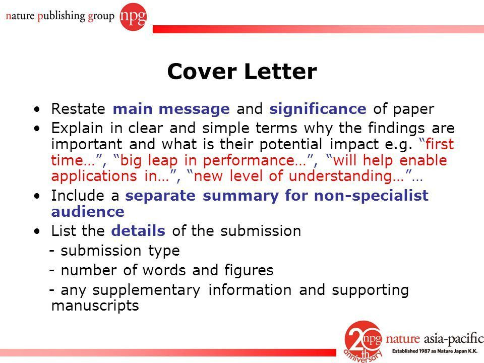 How to get your papers published in Nature journals - ppt video ...