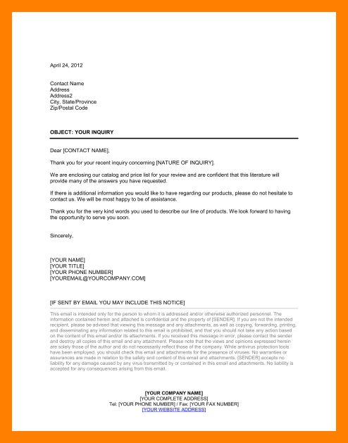 inquiry cover letter26851pngcaption. job enquiry email ...