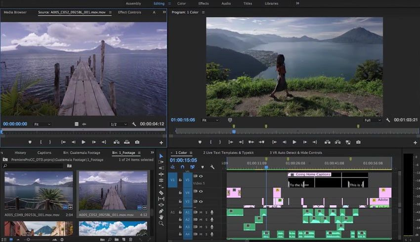 Adobe Releases the Latest Versions of Premiere Pro CC, Adobe After ...