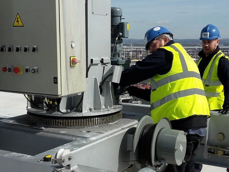 Zarafa - Nationwide Cradle Maintenance & Fall Protection