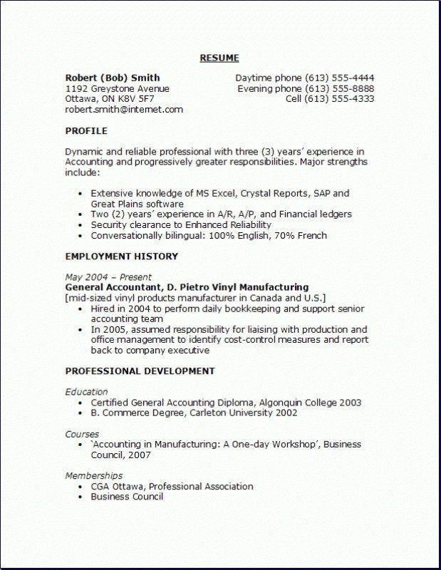 Accounting Objective Resume, resume public relations objective ...