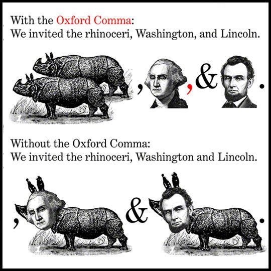 O is for Oxford Comma - Curiosity Quills Press